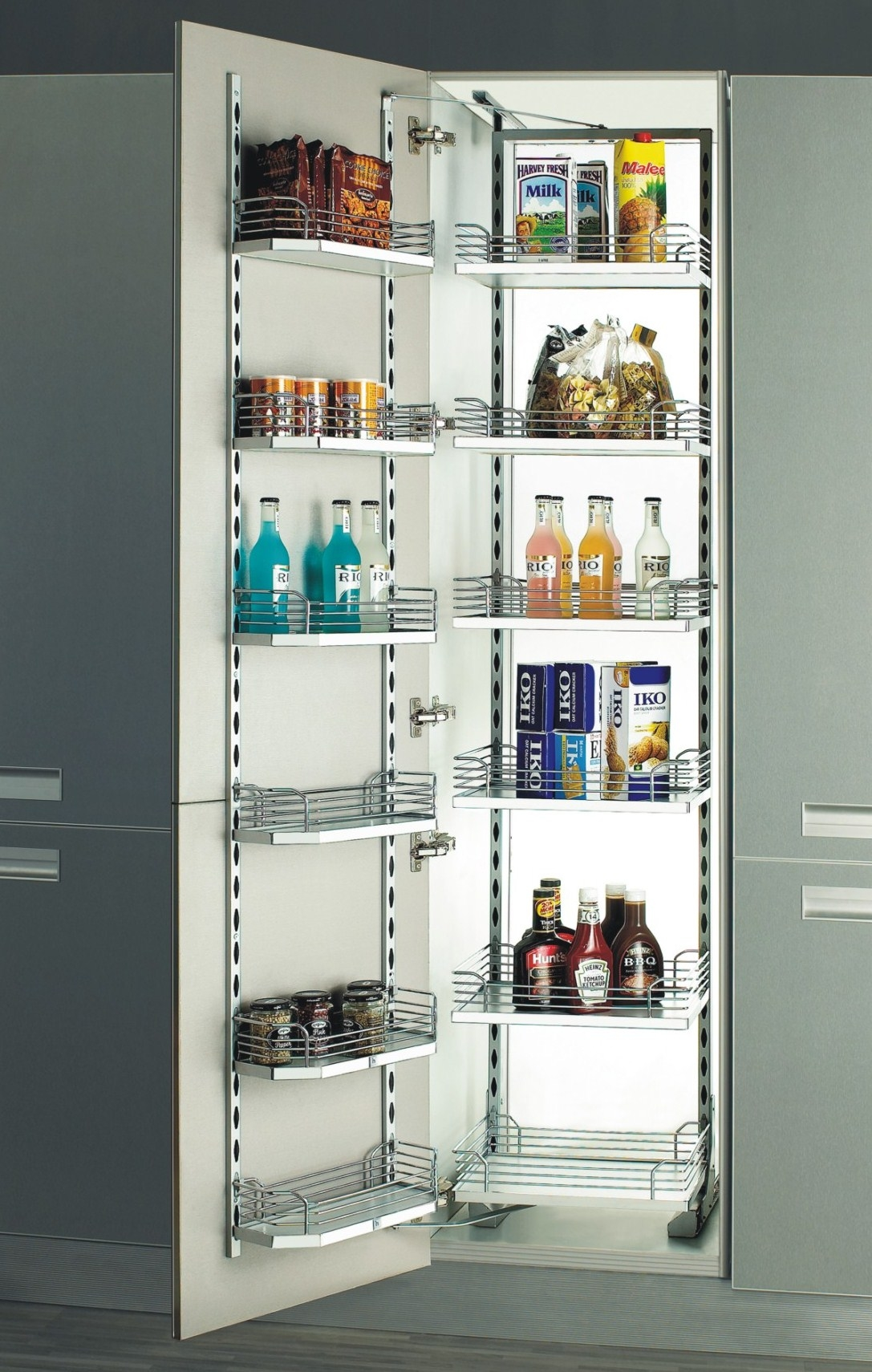 Tandem Pantry Unit 6 Layers